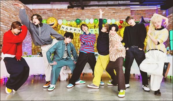 """.27/01/21. NCT 127 (sauf Taeyong) ont fêté le """"NCT 127 DAY"""", qui est le 27 janvier, en faisant un VLive ; lien direct ici"""