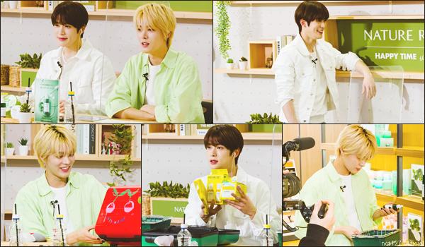 """.22/02/21. Jaehyun et Yuta ont participé à une vidéo promotionnelle pour la marque de cosmétique """"Nature Republic"""" NCT 127 est l'ambassadeur de la marque depuis avril 2020 ; la vidéo est essentiellement en japonais"""
