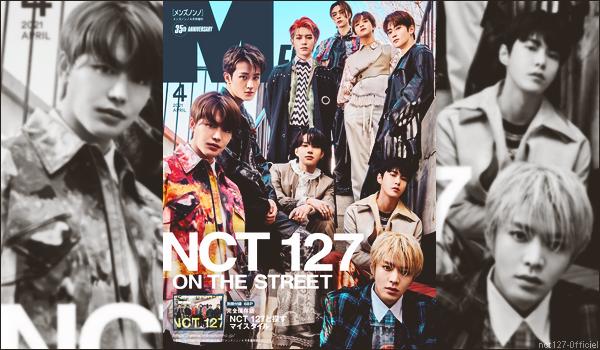 """.27/02/21. Les garçons feront la couverture du magazine masculin japonais """"Men's Non-No"""", pour le mois d'avril 2021 Il s'agit d'une édition spéciale du magazine ; ce numéro sera disponible dès le 9 mars"""