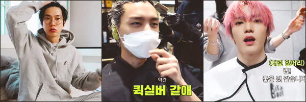 """.28/02/21. La chaîne YouTube """"NCT"""" a postée de nouvelles vidéos Les membres de NCT ont fait une Relay Cam pendant 24 heures, voici celles de NCT 127"""