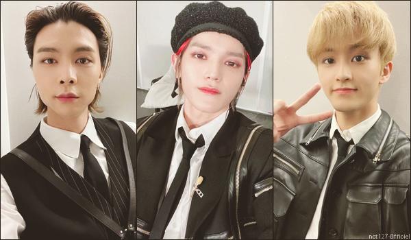 """.19/03/21. NCT 127 ont interprété """"Gimme Gimme"""" sur le plateau de """"Music Station"""" (show télévisé japonais)"""