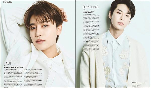 """.17/03/21. Le groupe est en couverture d'une édition spéciale NCT 127, de """"Elle Men Japan"""", pour le mois de mai 2021"""