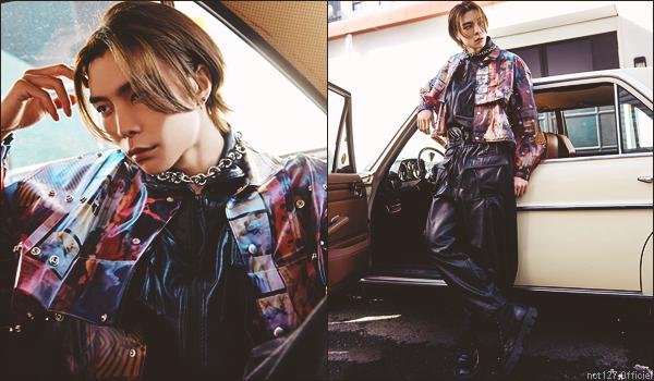 """.07/05/21. Série d'interview exclusive pour """"Men's Non-No"""" nommée """"NCT 127 on the street"""" : Johnny"""