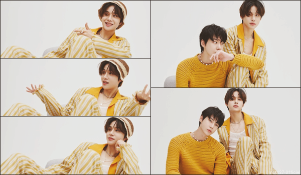 """.18/06/21. Jungwoo et Doyoung ont réalisé un photoshoot et une interview pour le magazine coréen """"At Star 1"""""""