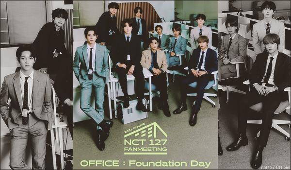 """.02/07/21. La chaîne YouTube """"NCT 127"""" a postée une nouvelle vidéo NCT 127 a promu leur live """"Office : Foundation Day"""" du 7 juillet prochain, avec quelques vidéos"""