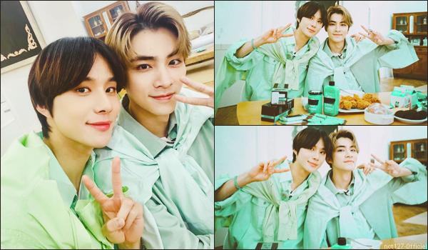 """.09/08/21. La chaîne YouTube """"NCT"""" a postée une nouvelle vidéo Xiaojun (WayV) a fait découvrir ses préférences culinaires à Jungwoo"""