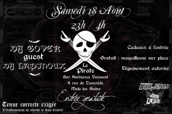 Dj Lapinoux & Dj Gover au Pirate