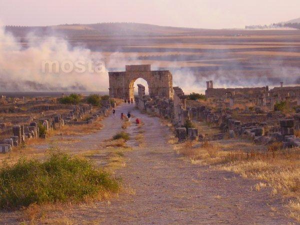 VOLUBILIS; Ruines de la vile romaine