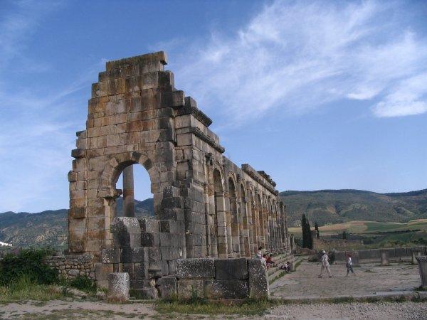 VOLUBILIS; Ruines de la ville romaine
