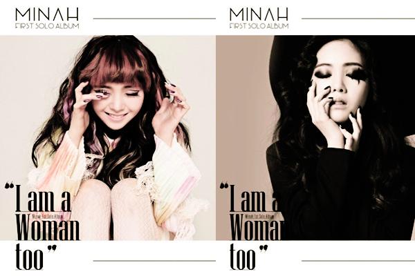 Le Nom Du Premier Mini-Album De Minah