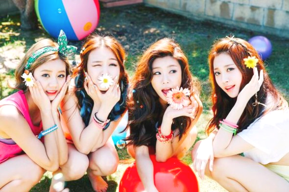 "Girl's Day Photo Teaser 14/07/2014 ""Darling"""