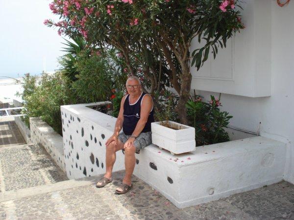 souvenir  vacances 2016  en GRECE. ((  (Santorin ))