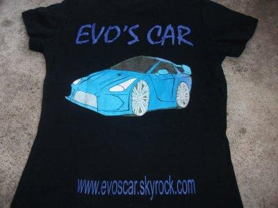 Présentation du tee shirt d'Evo's Car !!!!!!!!!!!!!