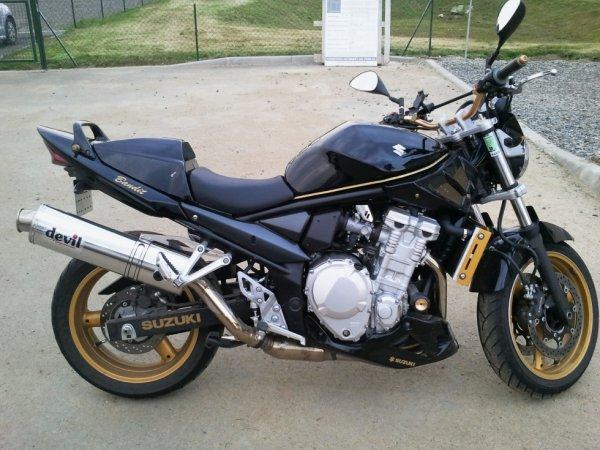 Ma nouvelle moto un 650 bandit de 2007 !!!!! :-)