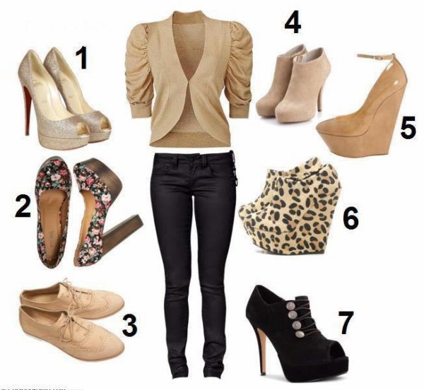 quelle chaussure choisire ??????