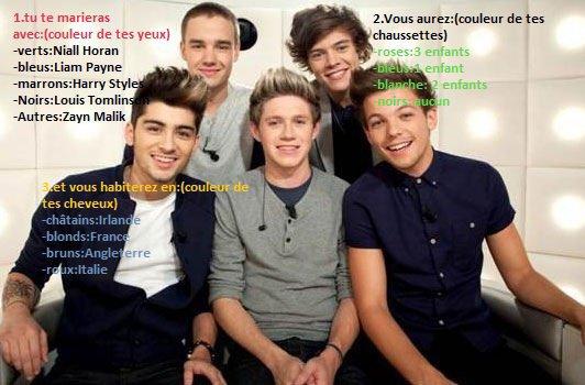Créer ta phrase avec les One Direction part.5