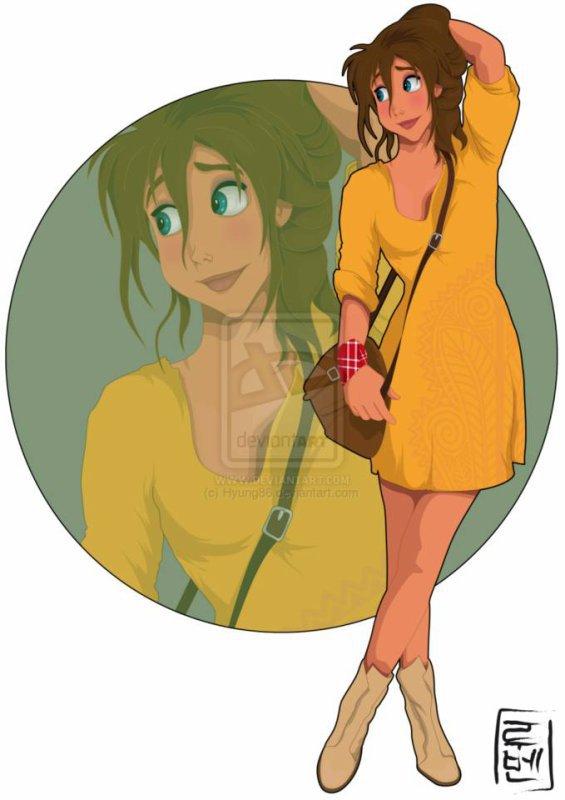"""Tarzan et Jane dans """"Disney Academy"""""""