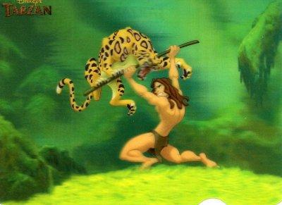 Cartes 3D Tarzan