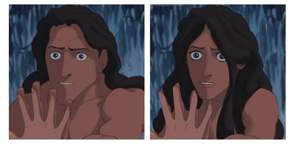 Si Tarzan était une fille...