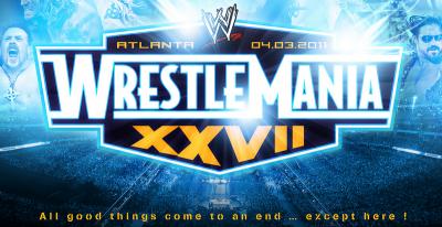 WrestleMania 27 - carte