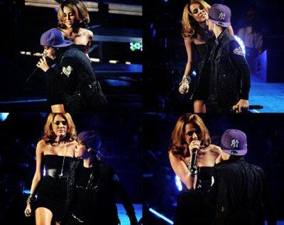 Miley et Justin bieber
