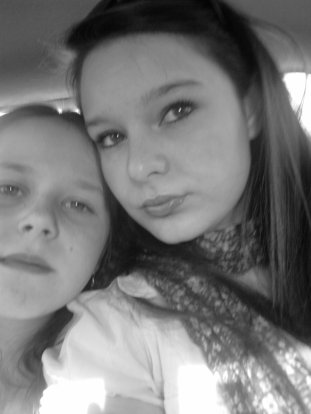 me and my sister!