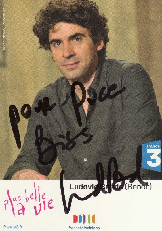 Dédicaces de Ludovic Baude