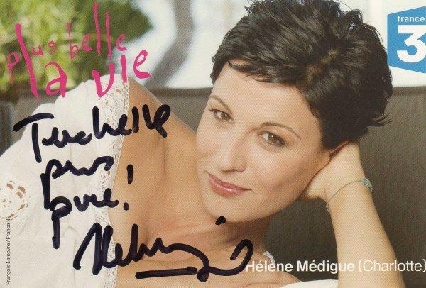 Dedicaces d'Hélène Médinque