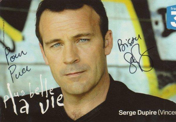 Dédicase de Serge Dupire
