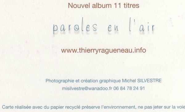 Dédicace de Thierry Ragueneau