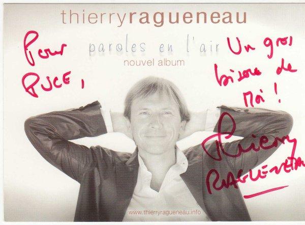 Dedicace de Thierry Raqueneau