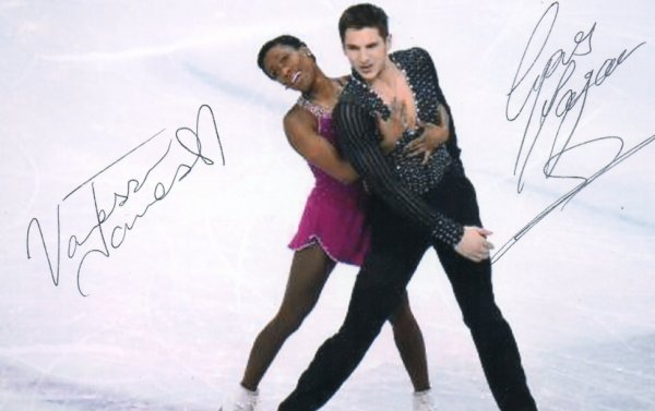Autographe de Vanessa et Morgan