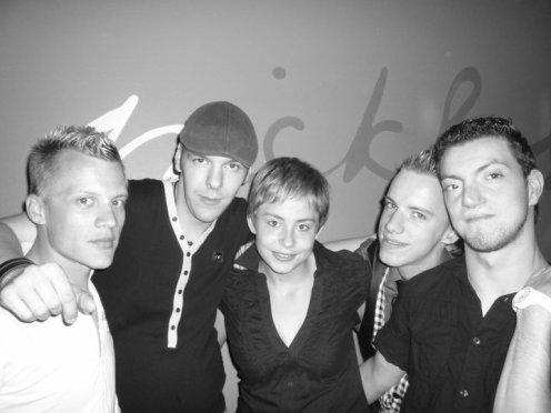 David ; Micka ; Steph ; Moi ; Grèg (!)