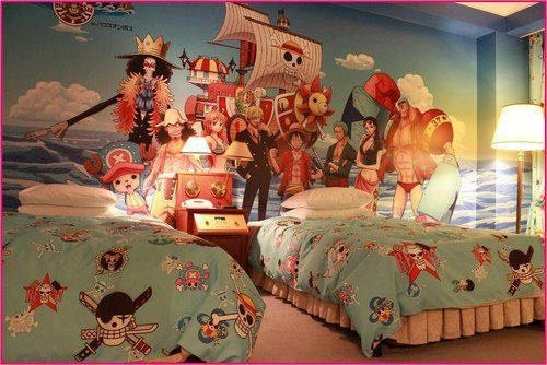 Chambre de one Piece !!!