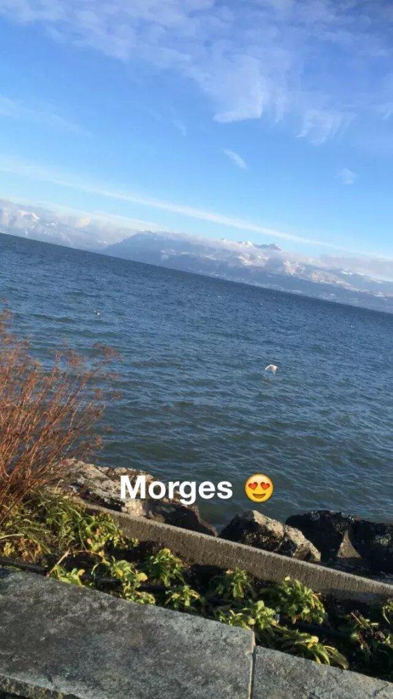 Cette après-midi a Morges