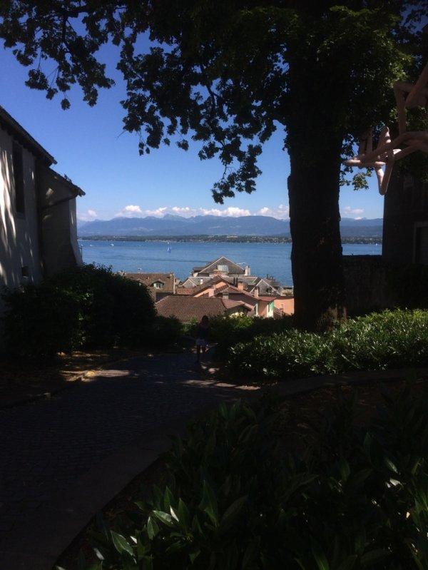 Vu sur le lac depuis Nyon :)