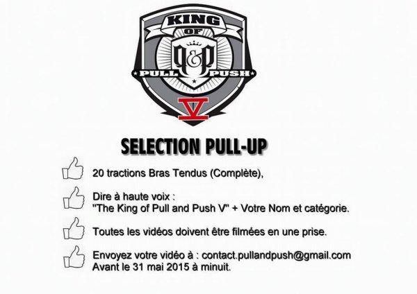 PULL AND PUSH PARIS INSCRIVEZ VOUS VITE!!!