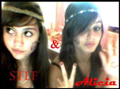 (l) Stef & Alicia (l)