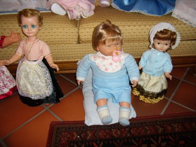 Deux poupées de mon enfance