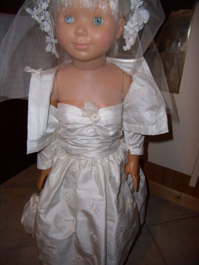 Vanessa en mariée
