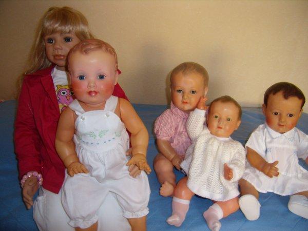 Lindsay et les bébés en celluloïd