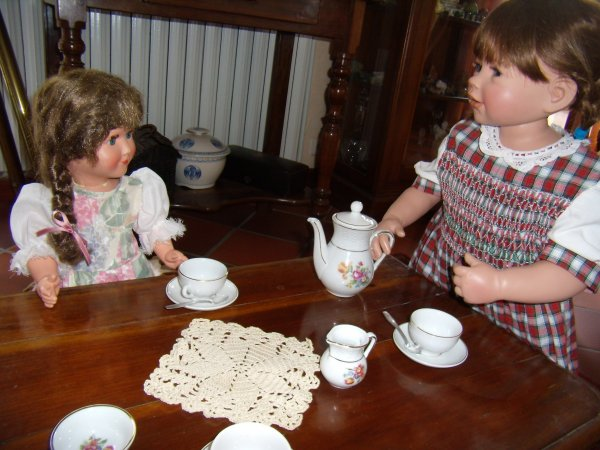 A l'heure du thé