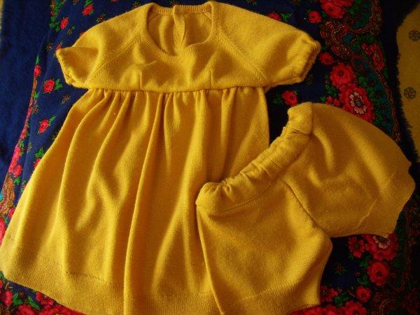 Robe et bloomer en jersey