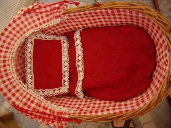 Garniture pour berceau alsacien