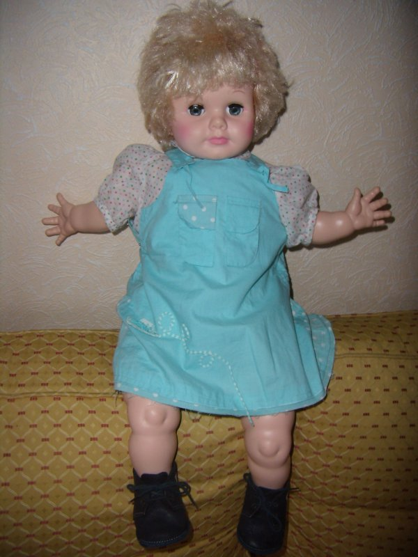 """""""Babette"""" - Eegee Goldberger Doll-  A Vendre"""