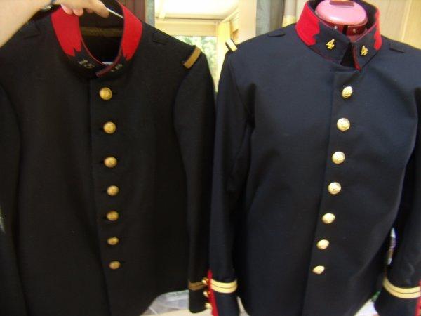 Le modèle et la nouvelle veste