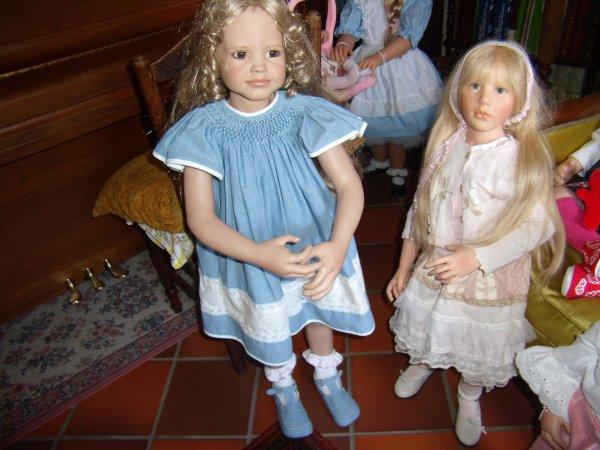 Les deux nouvelles filles de  Mélodie