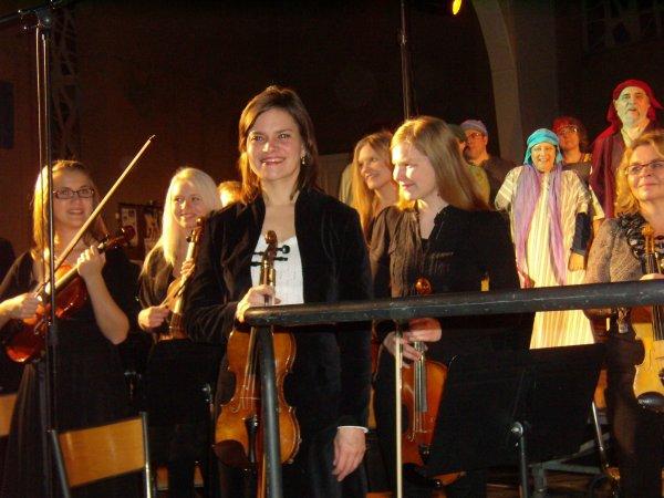 Concert donné à Joigny hier soir