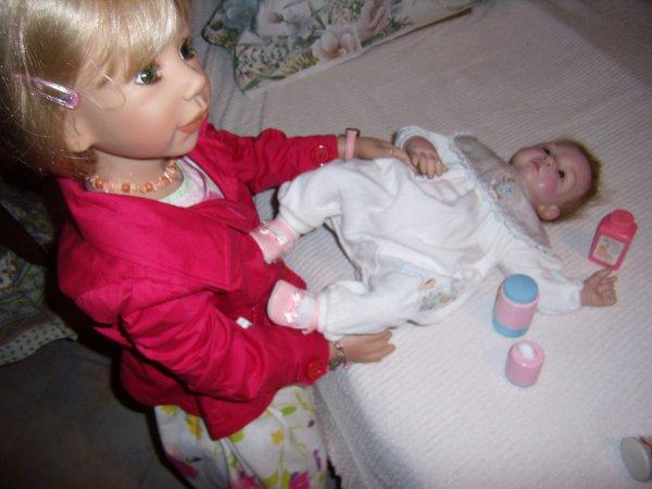 Marietta, Olivia et gabriel