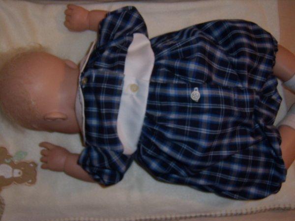 Barboteuse de bébé Taille 6 mois